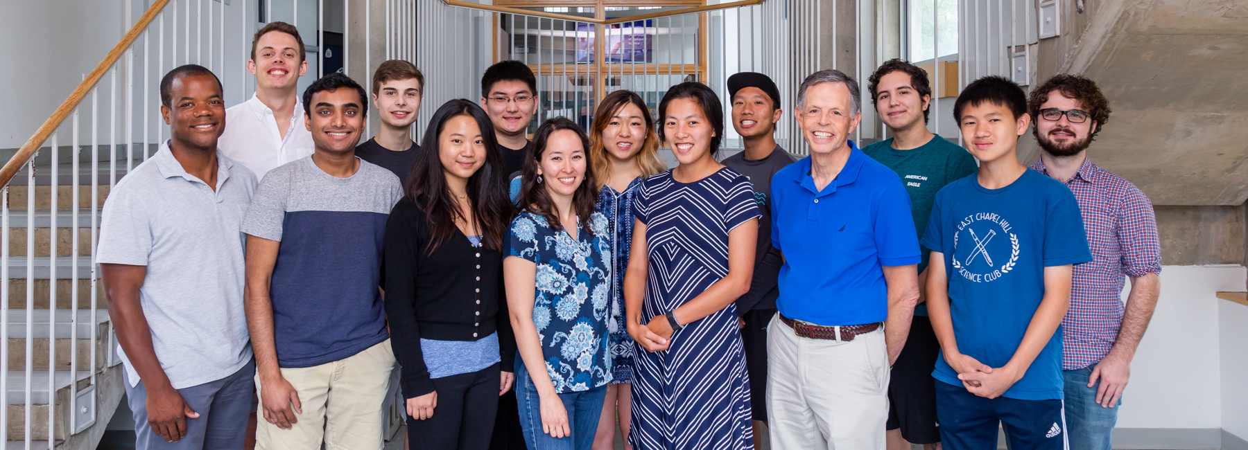 Undergrad summer research group 2018