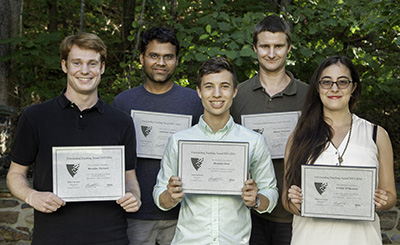 Recipients of Grad Student Awards