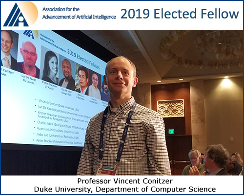 AAAI Fellow Vince Conitzer