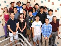 Summer undergrad program participants